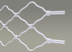 Охранително ролетна плетена