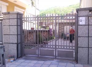 Врата еднокрилна ковано желязо 3