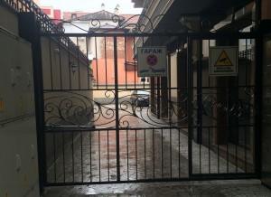Врата еднокрилна ковано желязо 5
